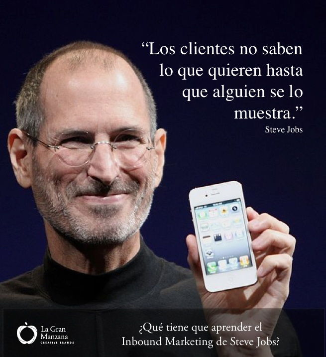 Steve Jobs y el Inbound Marketing