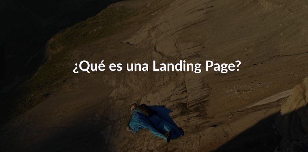 diseño paginas web landing page