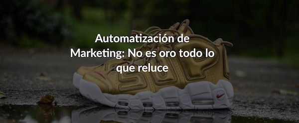 marketing digital b2b automatización