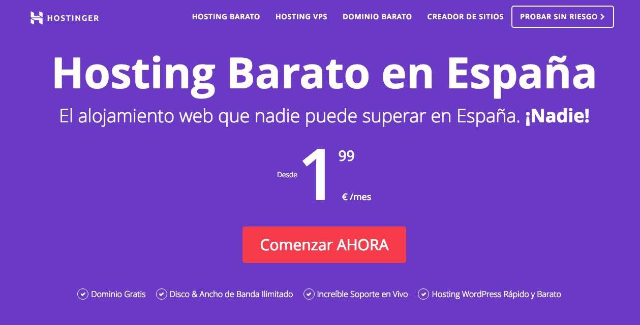 hosting y dominio, posicionamiento de marca