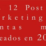 Los 12 Post de marketing y ventas más deseados en 2018