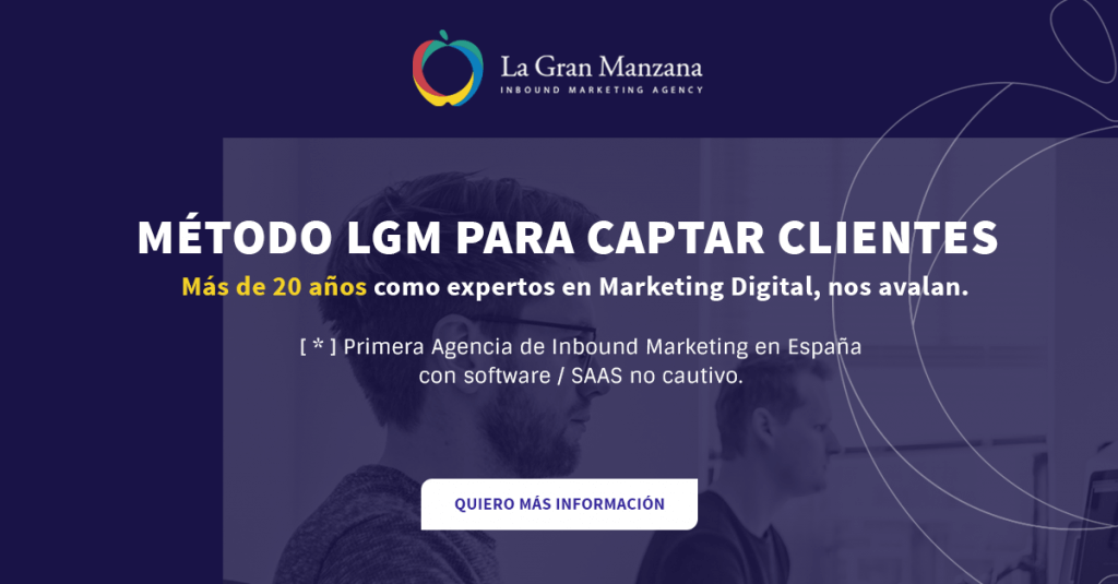 Metodo LGM para captar clientes