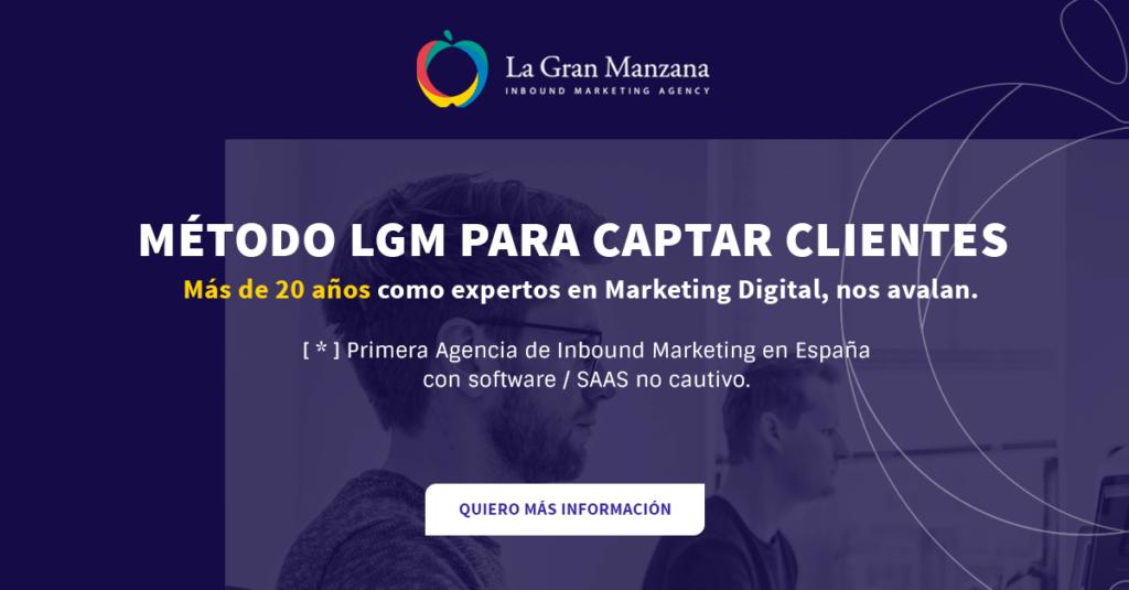 Método LGM para la captación de clientes